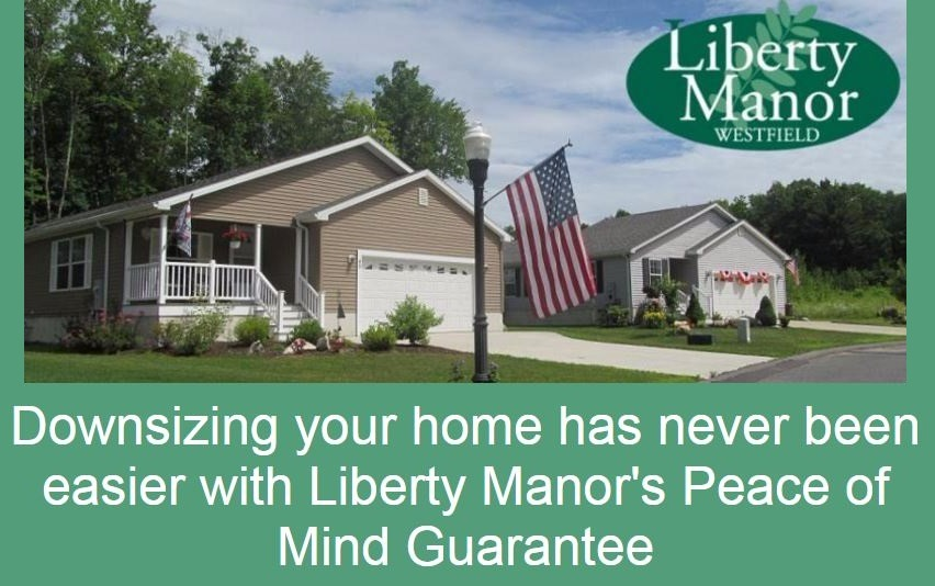 Downsizing Your Home Has Never Been Easier With Liberty Manor's Peace Of Mind Guarantee